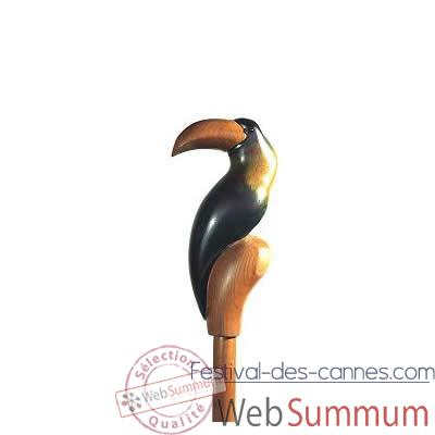 Video Canne bois Polychrome Tucano picon -A28
